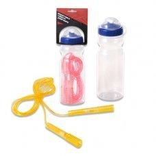 Скакалка Spirit Fitness с бутылочкой для воды