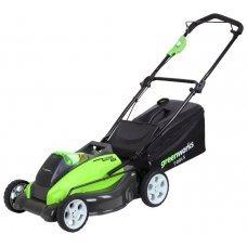 Газонокосилка greenworks 2500107 G-MAX 40V 45 cm 4-in-1