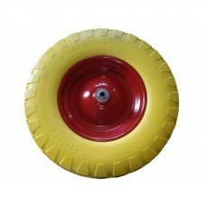 Полиуритановое колесо для садовой тачки Belamos 457P WPU 2