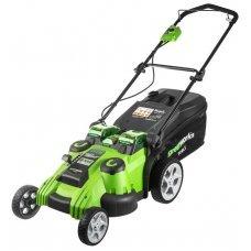 Газонокосилка greenworks 2500207uf G40LM49DBK6