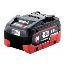 Аккумулятор Metabo LiHD 18 В, 8.0 А*ч 625369000