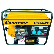 Бензиновая электростанция CHAMPION LPG6500E