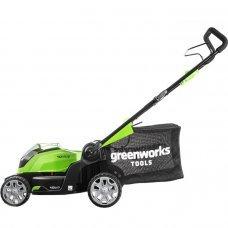 Аккумуляторная газонокосилка GreenWorks G40LM41K6 40V 2504707UF