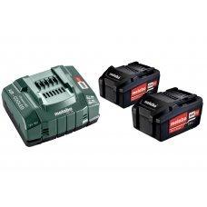 Аккумуляторы Metabo 2 шт 5,2 А*ч 18 В Li-Ion и ЗУ ASC 30-36 Basic-Set 685051000