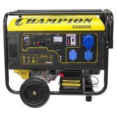 Бензиновая электростанция CHAMPION GG6501E+ATS