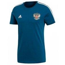 Футболка ADIDAS Россия 3-Stripes SR взрослая(L)