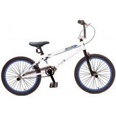 """Велосипед STINGER BMX Graffitti 20"""" (2019) - трюковая модель для начинающих. Его заниженная рама на основе прочной стали и жесткая вилка формируют надежную конструкцию для катания в различных стилях стрит, парк или дерт. Установлены надежные клещевые"""