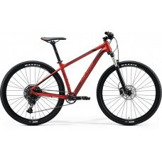 Велосипед MERIDA Big Nine 400 (2020) 14,5 / красно-черно-красный 14,5 ростовка