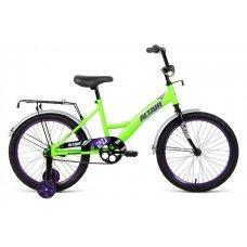 Велосипед ALTAIR Kids 20 (2020)(ярко-зелено-синий)
