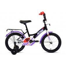 """Велосипед ALTAIR Kids 18"""" (2020) имеет специальную геометрию для детей, но подойдет детям ростом 95-110 см. Прочная стальная рама, жесткая стальная вилка, одинарные обода, ножные педальные тормоза, высокий руль с мягкой накладкой. Длинные крылья, защ"""