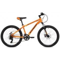 """Велосипед STINGER Aragon 24"""" (2018) 12,5 / оранжевый 12,5 ростовка"""