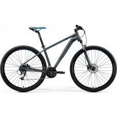 Велосипед MERIDA Big Nine 40-D (2020) 15 / матово-серебристо-сине-черный 15 ростовка