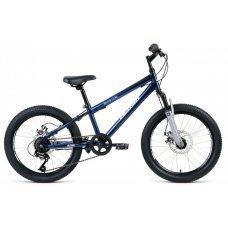 Детский велосипед ALTAIR MTB HT-20 2.0 Disc (2020) отличный выбор для юного райдера. В основе конструкции стальная рама и амортизационная вилка ALTAIR 158D с ходом 30 мм. Специальная геометрия рамы для детей. Стальной руль регулируется по высоте, что даёт