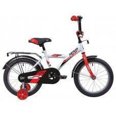 """Велосипед NOVATRACK Astra 16"""" (2020)(белый)"""