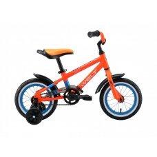 """Велосипед WELT Dingo 12"""" (2020)(оранжево-синий)"""