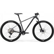 Велосипед MERIDA Big Nine 700 (2020) 17 / серо-матово-темно-серебристый 17 ростовка