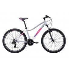 """Велосипед WELT Edelweiss 1.0 26"""" (2020) 16 / матово-серый-розовый 16 ростовка"""