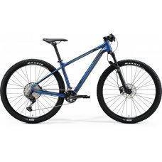 Велосипед MERIDA Big Nine XT2 (2020) 15 / матово-титаново-глянцево-черный 15 ростовка