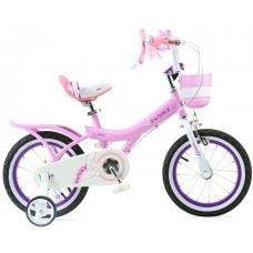"Велосипед ROYALBABY Bunny Girl 14"" (2020)(розовый)"