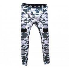 Бандаж-штаны хоккейные MAD GUY Camo-Line JR подростковый(110 / коричневый/110)