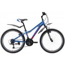 Велосипед STARK Bliss 24.1 V (2019)(синий-красный-белый)