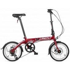 Велосипед LANGTU MT 1606 6s (2019) 16 / красный-белый 16 ростовка