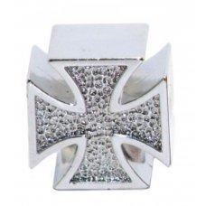 Колпачок CHERN SHIANQ CSA-V23 Крест готика(серебряный)