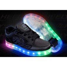 Роликовые кроссовки HEELYS Premium 1 LO YTH детские HE100262H(31)