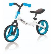 Беговел GLOBBER Go Bike(бело-голубой)