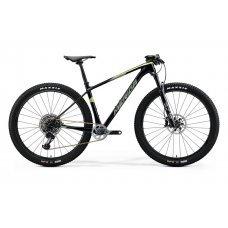 Велосипед MERIDA Big Nine 8000 (2020) 15 / прозрачно-зелено-зеленый 15 ростовка