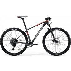 Велосипед MERIDA Big Nine 3000 (2020) 15 / матово-антрацитово-красный 15 ростовка