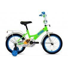 """Велосипед ALTAIR Kids 14"""" (2020) имеет специальную геометрию для детей, но подойдет детям ростом 95-110 см. Прочная стальная рама, жесткая стальная вилка, одинарные обода, ножные педальные тормоза, высокий руль с мягкой накладкой. Длинные крылья, защ"""