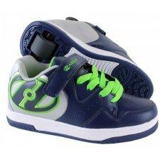 Роликовые кроссовки HEELYS Hyper JR подростковые 770543(35)
