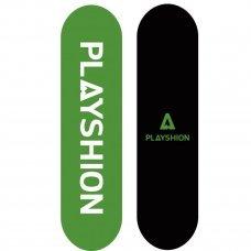 Скейтборд PLAYSHION Gun(зеленый)