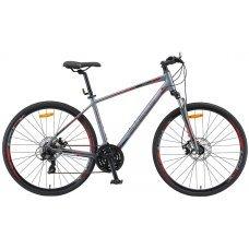 Велосипед STELS Cross 130 MD Gent V010 (2019) 17 / серый 17 ростовка