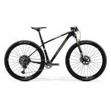 Велосипед MERIDA Big Nine 9000 (2020) 19 / матово-черно-глянцево-золотой 19 ростовка