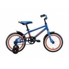 """Велосипед WELT Dingo 14"""" (2020)(синий-оранжевый)"""