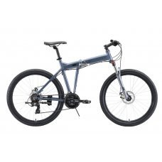 Велосипед STARK Cobra 26.2 D (2020) 18 / серо-чёрный 18 ростовка