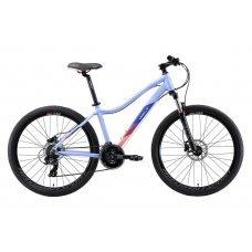 "Велосипед WELT Edelweiss 1.0 HD 26"" (2020) 16 / синий-розовый 16 ростовка"