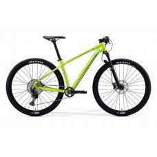 Велосипед MERIDA Big Nine SLX Edition (2020) 14,5 / глянцево-зелено-черный 14,5 ростовка