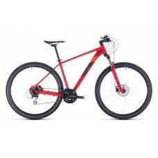 Велосипед CUBE Aim Race 27.5 (2020) 18 / чёрно-зелёный 18 ростовка