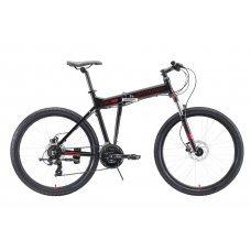 Велосипед STARK Cobra 26.2 HD (2020) 18 / чёрно-красный 18 ростовка