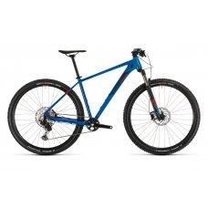 Велосипед CUBE Reaction Pro 29 (2020) 17 / сине-красный 17 ростовка