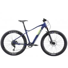 Велосипед WELT Freedom 27 Plus (2020)(темно-синий-желтый)