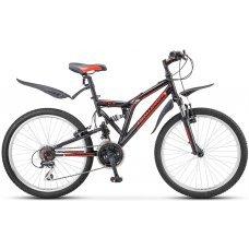 Велосипед STELS Challenger 24 V Z010 (2018) 16 / черно-красный 16 ростовка