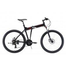 Велосипед STARK Cobra 26.2 D (2019) 18 / черный-красный-серый 18 ростовка