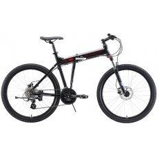 Велосипед STARK Cobra 26.3 HD (2019) 18 / черный-красный-серый 18 ростовка