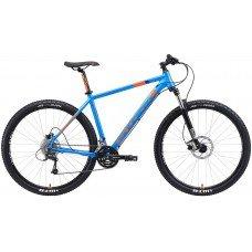 Велосипед STARK Armer 29.6 HD (2019) 18 / голубой-оранжевый 18 ростовка