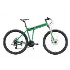 Велосипед STARK Cobra 27.2 D (2020) 18 / зелено-черный 18 ростовка