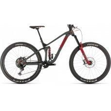 Велосипед CUBE Stereo 170 TM 29 (2020) 18 / серо-красный 18 ростовка